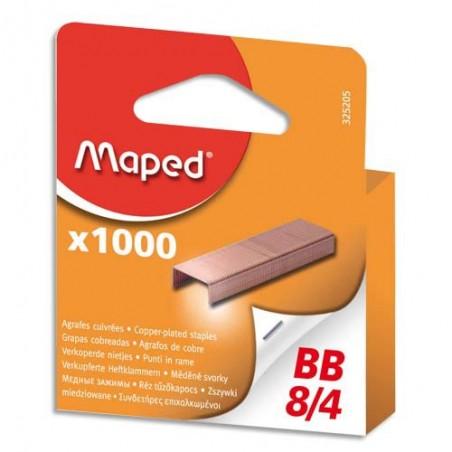 MAE B/1000 AGRAFES 8/4 BLISTER 325205