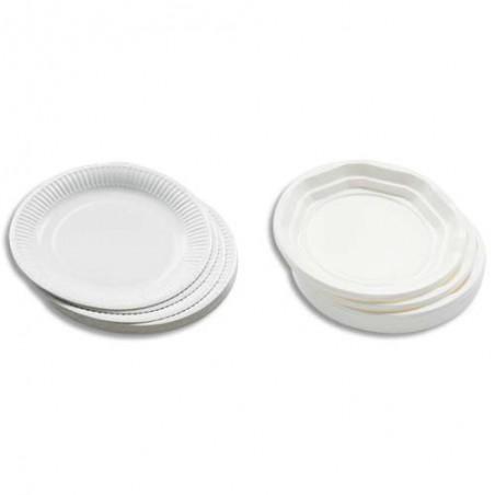 HUH S/100 ASSIET PLAST 21.5CM BLC 521002