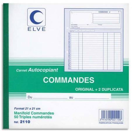 ELV CARN COMMANDE ATCP 21X21CM 50/3 2110
