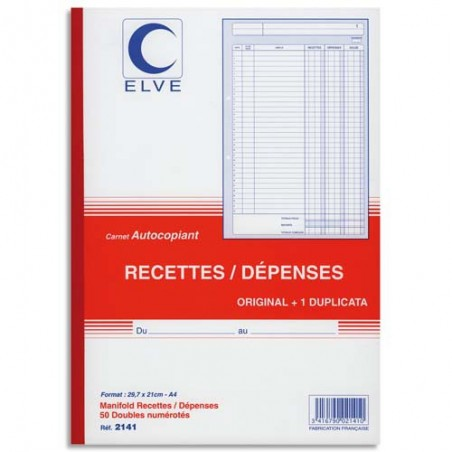 ELV CARN RECETTEDEPENS ATCP A4 50/2 2141