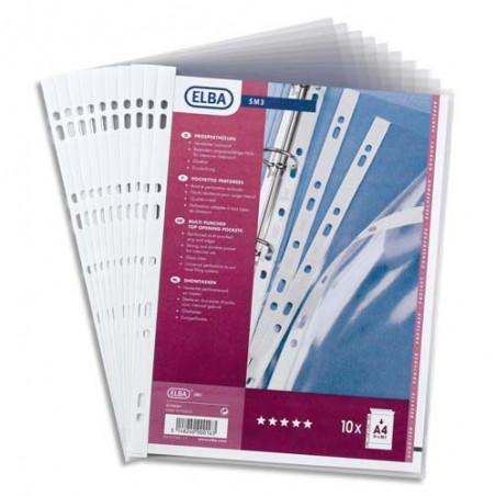 OXF S/10 POCH PERF A4PVC10/100 100206961