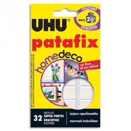 UHU E/32 PASTILL PATAFIX HOMEDECO 38150