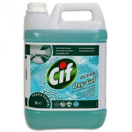 CIF BIDON 5L NETT OXYGEL OCEAN 7517870