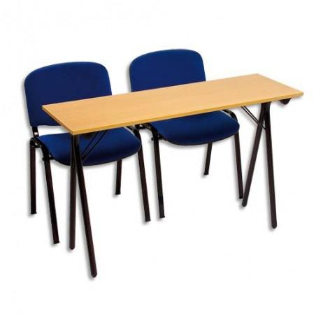 STB TABLE FORMATION HETR NOIR 2PL SEM120