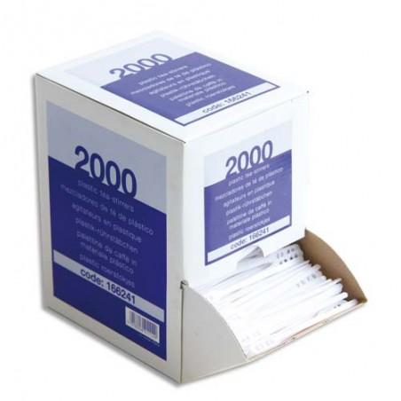 HUH B/2000 SPATULES PLASTIQ BLC 800118B