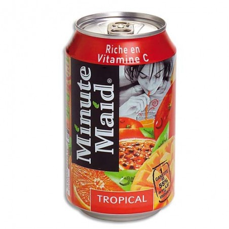 MMD CAN MINUTEMAID TROPI 33CL 1100000336