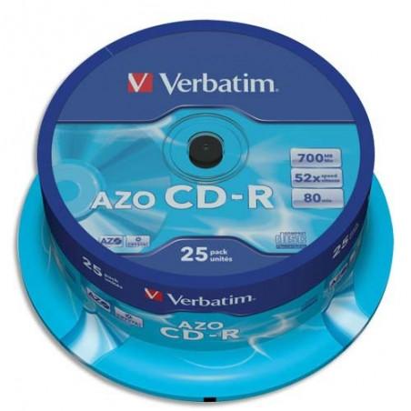 VET TOUR/25 CD-R 52X 700MB 80MIN 43352+R