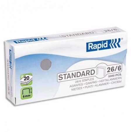 RAP B/5000 AGRAFES 26/6 24861800