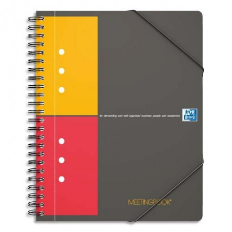 OXF MEETINGBOOK A4+ 160P 5X5 100100362