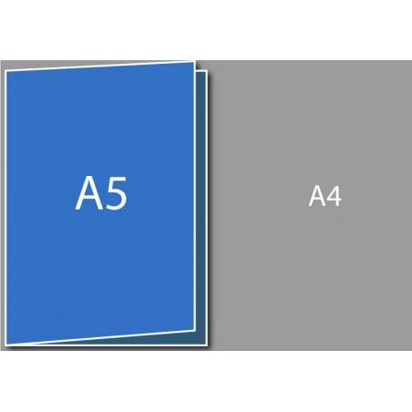 Dépliant A5 (A4 plié en deux)