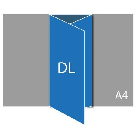 Dépliant DL (A4 plié en 3)