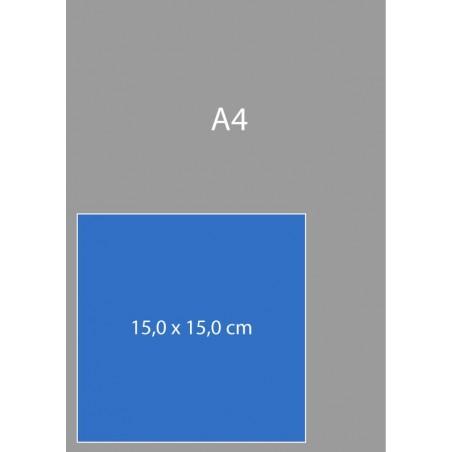 Cartes carrées 15,0 x 15,0 cm