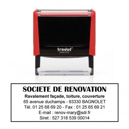 Tampon Printy 4915 - 70x25mm