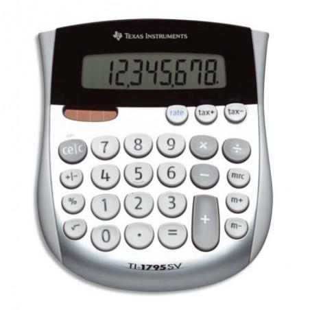 TEX CALCULATRICE EURO 8CHIFFRES TI1795SV