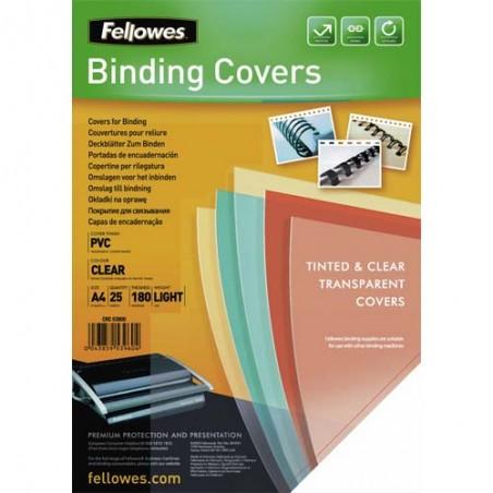 FEL B/25 COUV PVC A4 TRSP 180MIC 5380001
