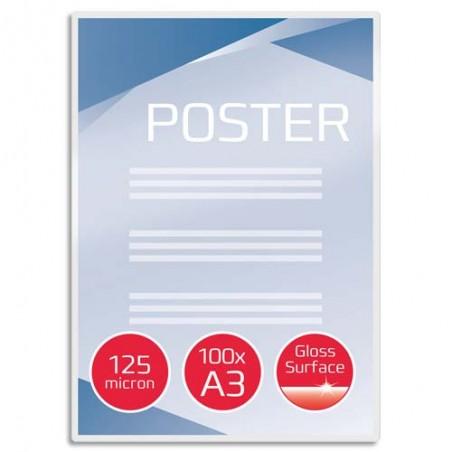GBC B/100 P/PLAST A3 125 m/FACE 3200725