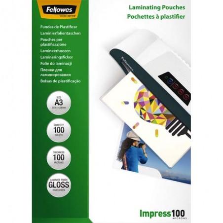 FEL B/100 POCHETTES A3 100MIC 5351205