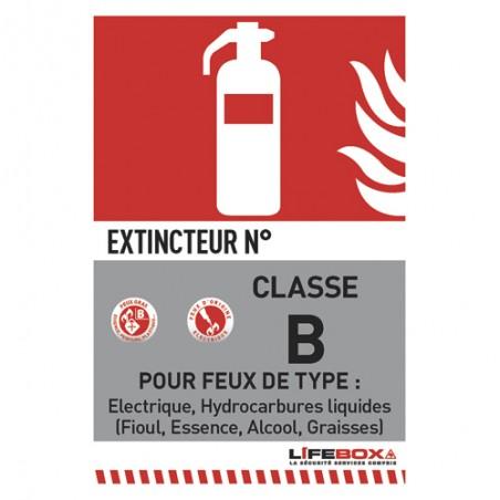 LFX PANNEAU CLAS FEU B CLASSEBCO2