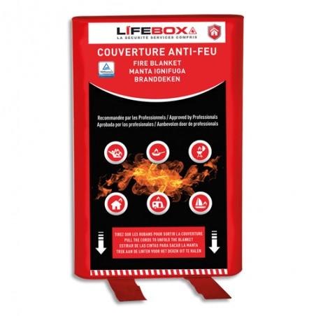 LFX COUVERTUR ANTIFEU 120X120CM G COUV01