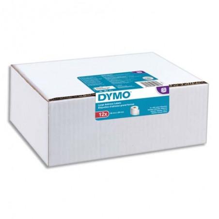DYM P/12 ETIQ LW LAG ADR 36X89MM 2093093