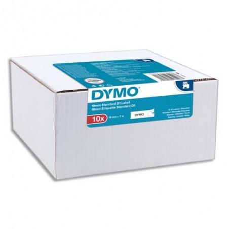 DYM P/10 RUBAN D1 NR/BLC 9MMX7M 2093096