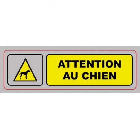 VIS PLAQUE SIGNALQ ATTENTION CHIEN S31