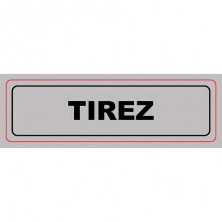 VIS PLAQUE SIGNALQ TIREZ S28