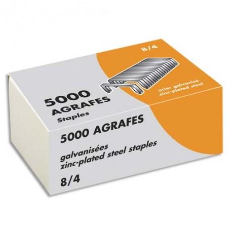 1ER B/5000 AGRAFES 8/4 GALVA FAF080173