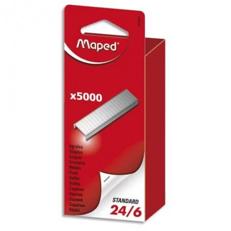 RAP B/5000 AGRAFES 24/8 24860100