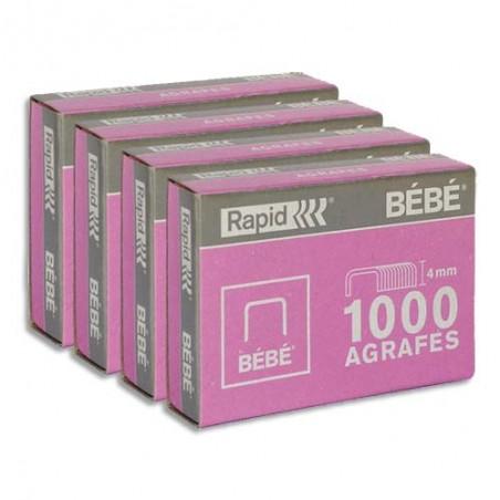 RAP B/4000 AGRAFES BEBE 11974686