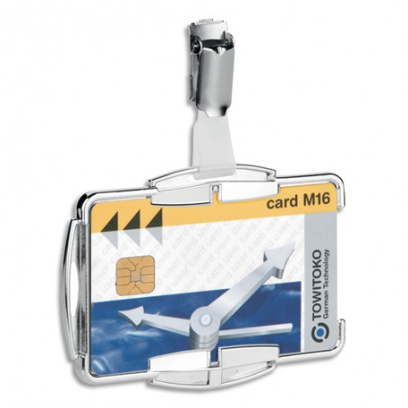 DUR B/10 PORTE-BADGE RFID 1C TRS 8901-23