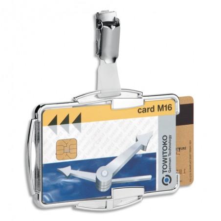 DUR B/10 PORTE-BADGE RFID 2C TRS 8902-23