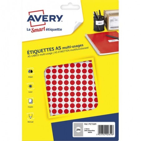 AVE S/2940 PASTILLES D8MM RGE PET08R
