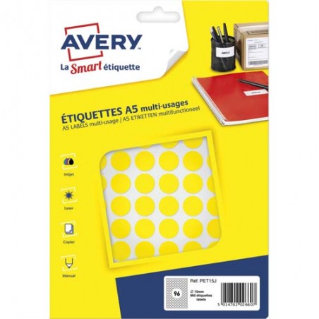 AVE S/960 PASTILLES D15MM J PET15J