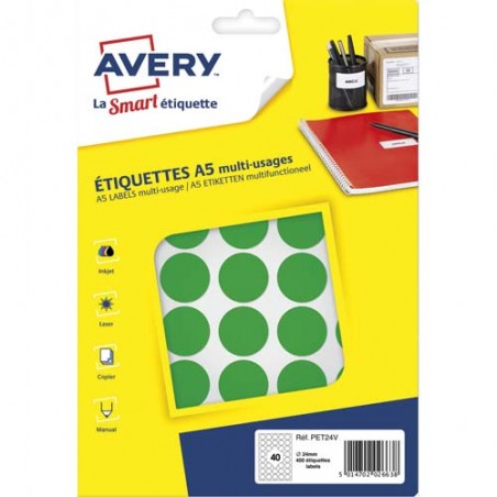 AVE S/400 PASTILLES D24MM VT PET24V