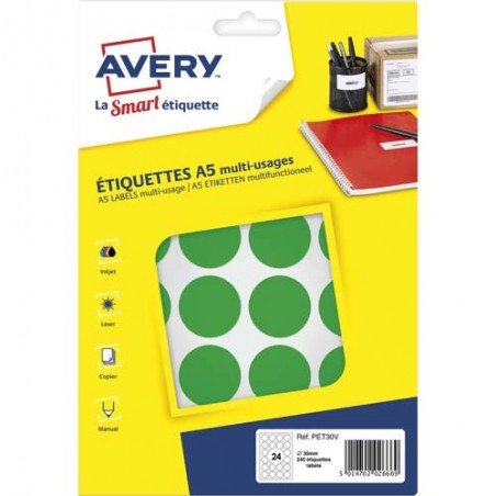 AVE S/240 PASTILLES D30MM VT PET30V
