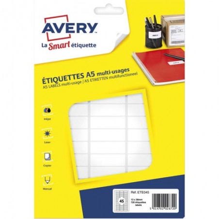 AVE S/720 ETIQ MULTI A5 12.8X38 ETE045