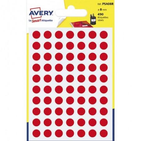 AVE S/490 PASTILLES D8MM RGE PSA08R