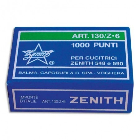 ZEN B/1000 AGRAFES ZENITH 6/6 ZT130Z6