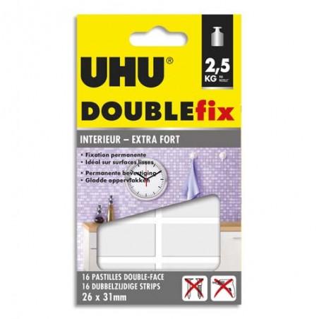 UHU BL/16 PASTILLE DOUBL FIX XTRA 036920