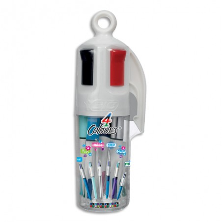 BIC BOX 6 BILLE 4 COUL FAMILY 8970301