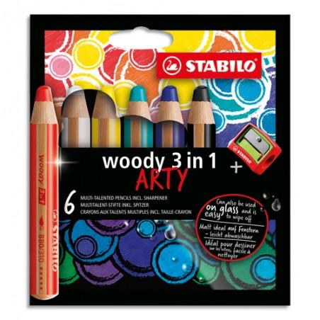 STA E/6 CC 3EN1 WOODY ARTY ASS 8806-1-20