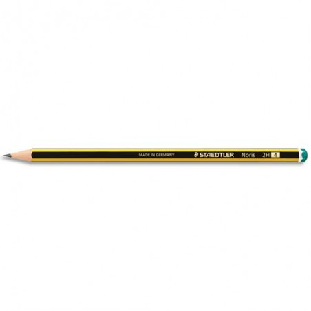 STD CRAYON GRAPHITE 2H NORIS 120-4