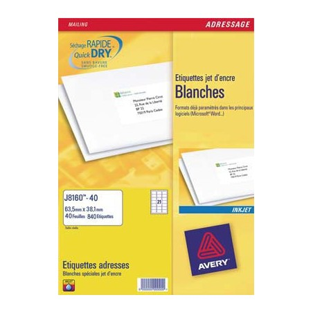 AVE B/450 ETIQ JTENC 63.5X46.6 J8161 25