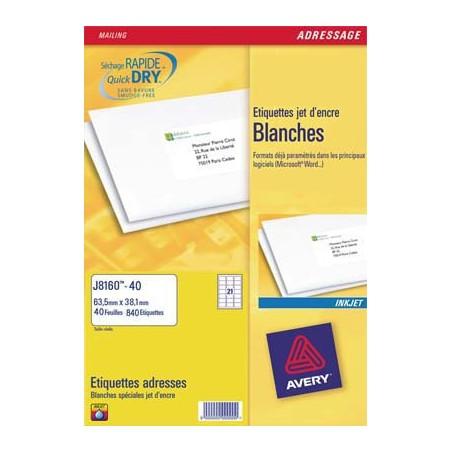 AVE B/525 ETIQ JTENC 63.5X38.1 J8160 25