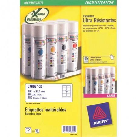AVE B/280 ETIQ SIGNAL99 1X38 1 L706320