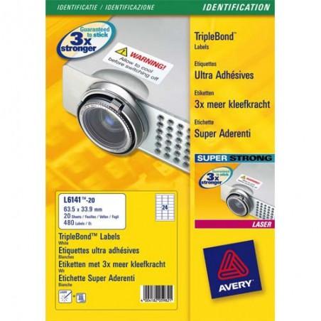 AVE B/420 ETIQ SIGNAL63 5X38 1 L706020
