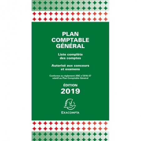 EXA PLAN COMPTABLE GENERAL 14002E