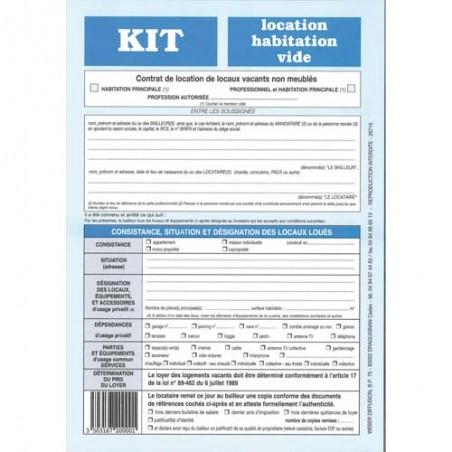 WDF KIT LOCATION - HABITATION VIDE-720