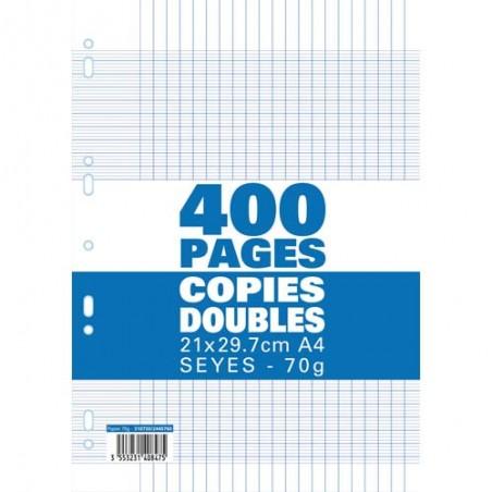 1ER SACHET/400P COPIE DOUBLE 70G SEY